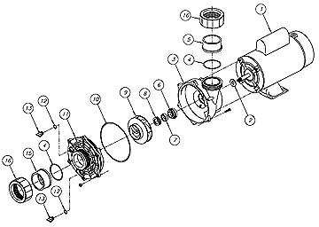 Magnaflow Exploded on Emerson Pool Pump Motor Wiring Diagram